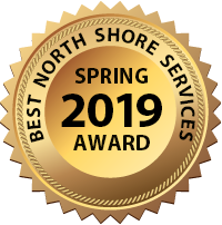 Best North Shore Service Award Spring 2019