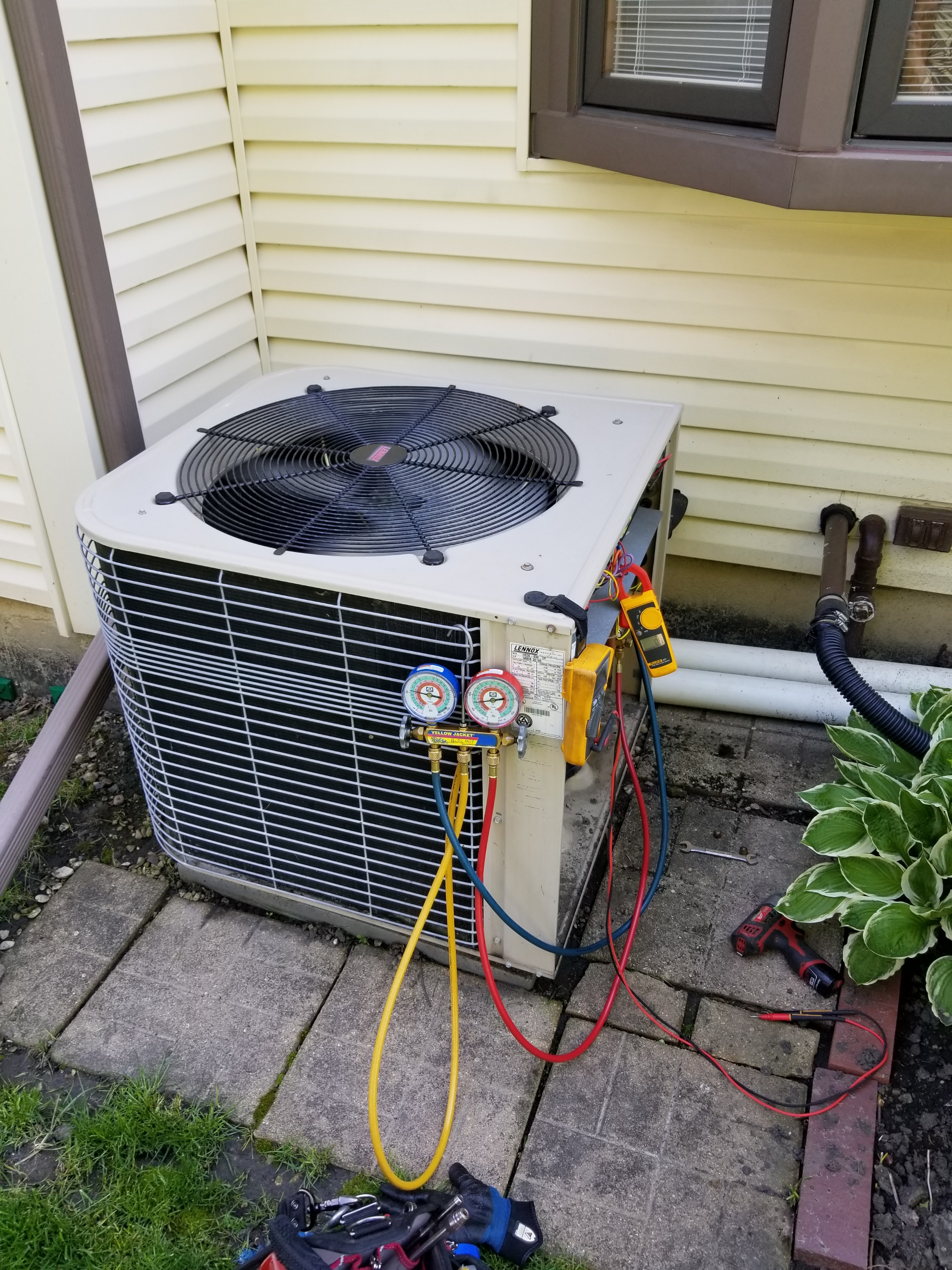 Lennox ac maintenance.