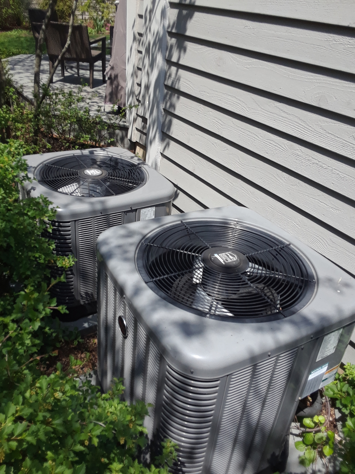 A.c. maintenance 2 NEW RHEEM SYSTEMS