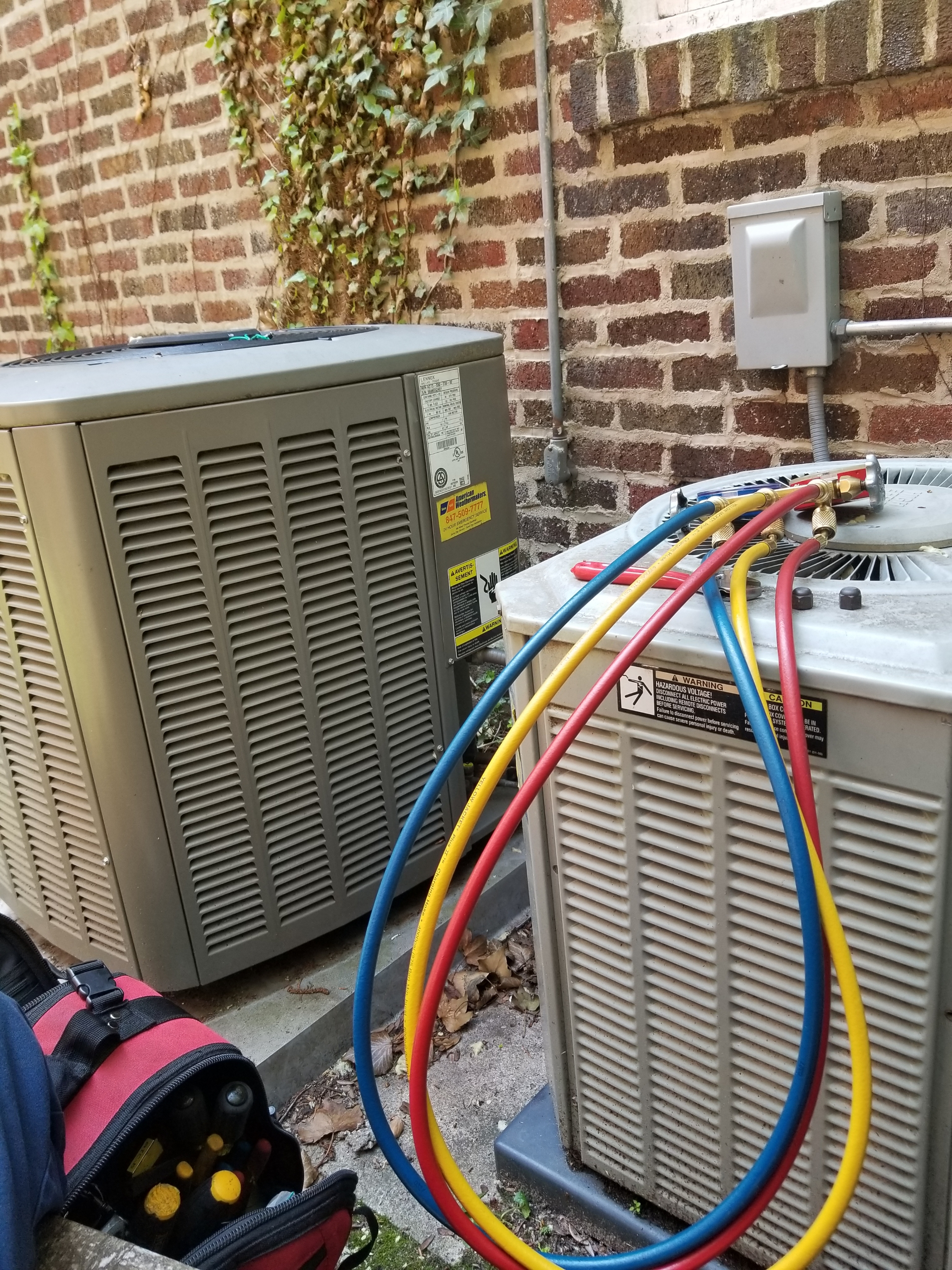 AC Maintenance on Muti-Zone Units